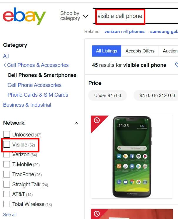ebay phones